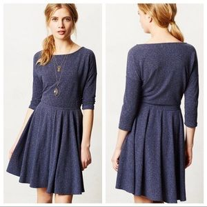 Anthropologie Puella Fit'n Flare Midday Dress M